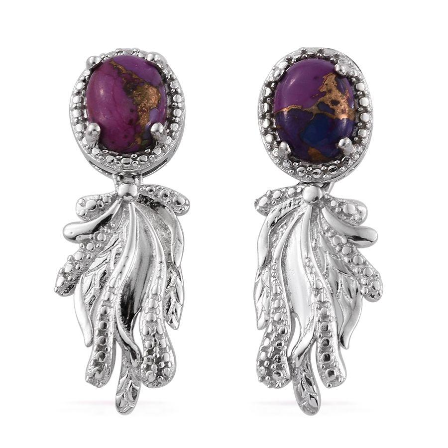 karis collection mojave purple turquoise platinum bond