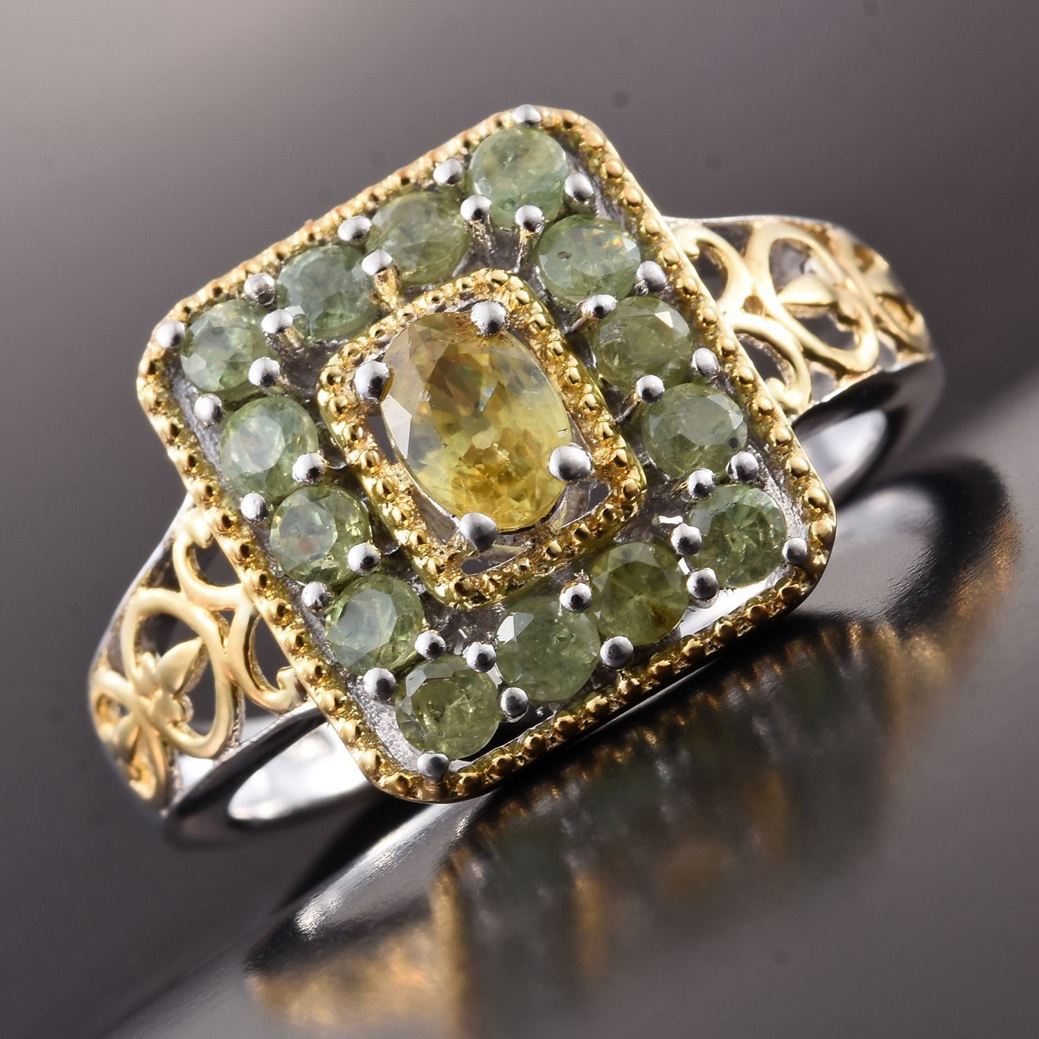rings of carats mine pin ring from belmont emerald rare with a scavia sphene