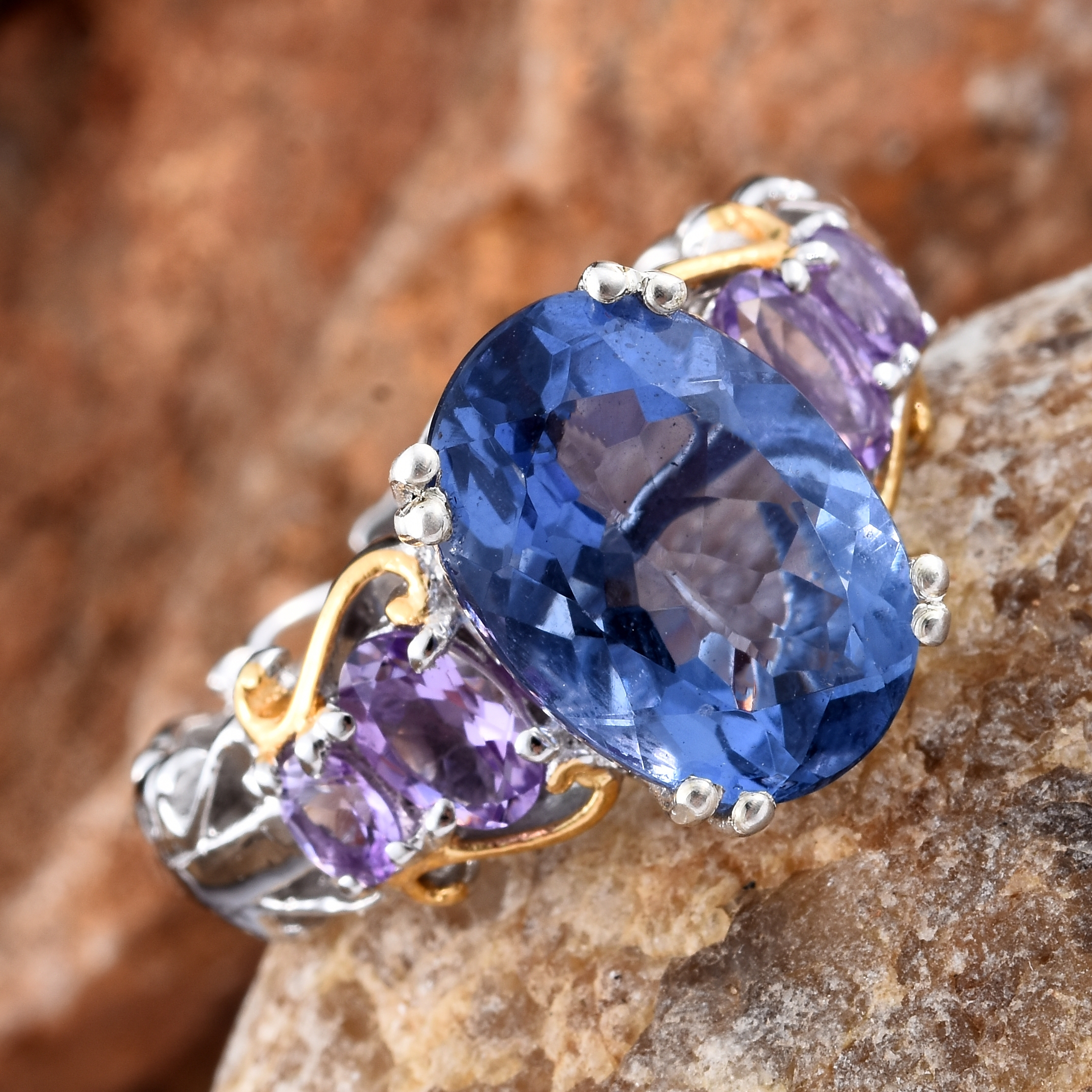 the jewelry ring rings and diamond cocktail enlarged flourite realreal fluorite products