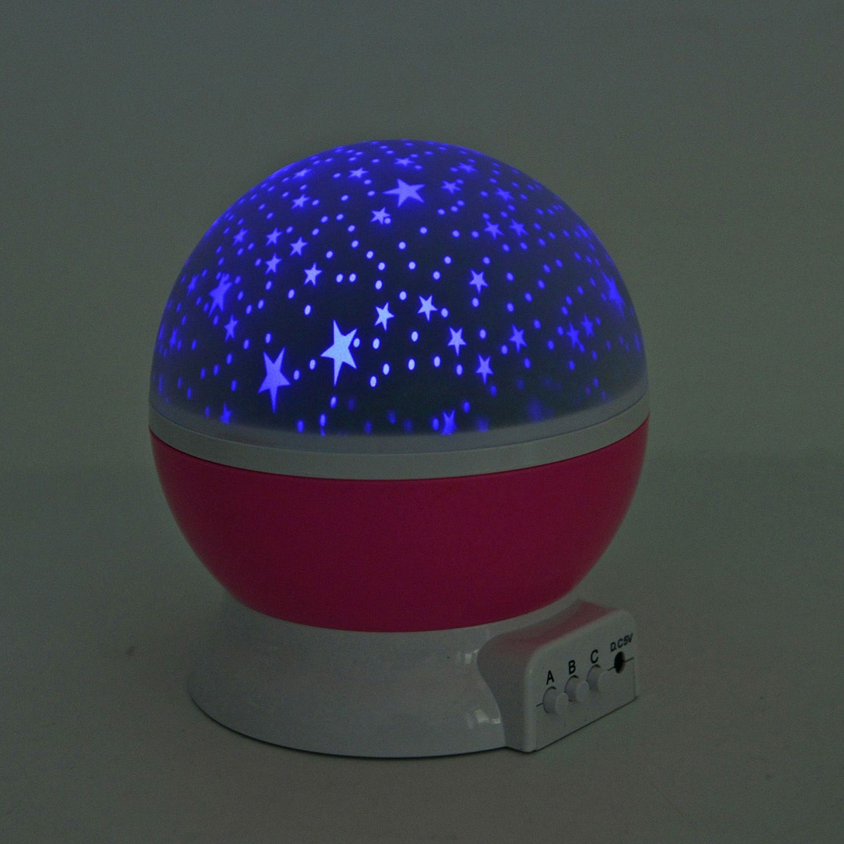 Pink Star Master Dream Rotating Projection Lamp Lighting