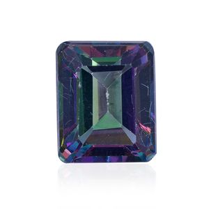 Mystic Green Topaz (Oct 10x8 mm) TGW 3.75 Cts.
