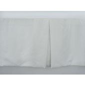 J Francis Hotel Collection Off-White Euro-Weave Bed Skirt King