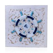 Nautical Theme Ships Wheel Wall Hanging (32 in)