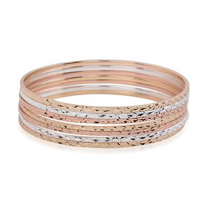 Multitone Set of 7 Bangles