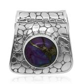 Bali Legacy Collection Mojave Purple Turquoise Sterling Silver Pendant without Chain TGW 5.660 cts.