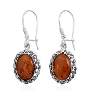 Baltic Amber Sterling Silver Earwire Earrings