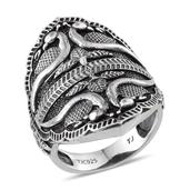 Tribal Collection of India Sterling Silver Ring (Size 7.0)