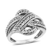 Tribal Collection of India Sterling Silver Ring (Size 8.0)