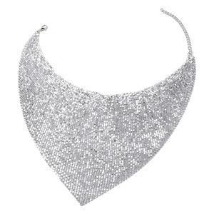 Doorbuster Designer Inspired Silvertone Necklace (20-22 in)