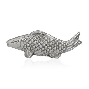 Handcrafted Personal Aluminium Fish Sculpture (6 in)