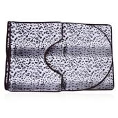 Snow Leopard Ultra Soft 3 Piece Bath Mat Set