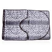 Snow Leopard Ultra Soft 3 Piece Bath Mat Set