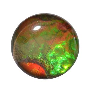 Canadian Ammolite (Rnd 8 mm) TGW 1.23 cts.