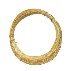 Gem Workshop Goldtone Wire (Approx 10 mtr, 0.08 mm)