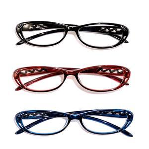 DOD Set of 3 Deco Readers Glasses + 2.5