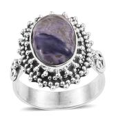 Utah Tiffany Stone Sterling Silver Ring (Size 7.0) TGW 4.880 cts.