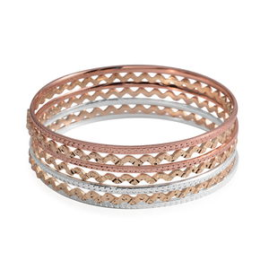 Tritone Set of 7 Bangle (8 in)
