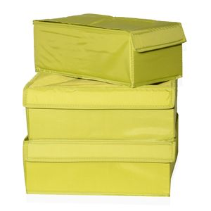 Green Undergarment/Jewelry/Accessory Organizer Set of 3