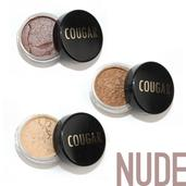 Cougar Beauty Nude Eye Shadow Trio With Brush
