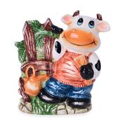 Ceramic Cow Kitchenware Container (6.5x5.5x2.5 in)