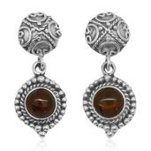 Bali Legacy Collection Baltic Amber Sterling Silver Earrings