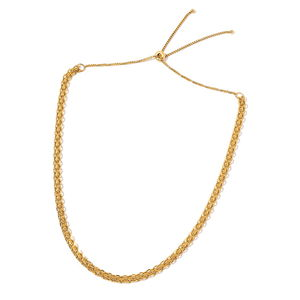 ION Plated YG Stainless Steel Link Necklace (18 in)