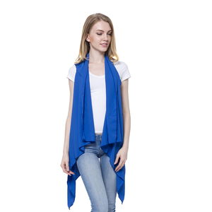 Royal Blue 100% Polyester Vest