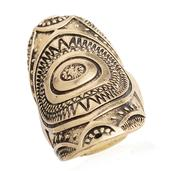 Antique Gold Plating Ring (Strength)
