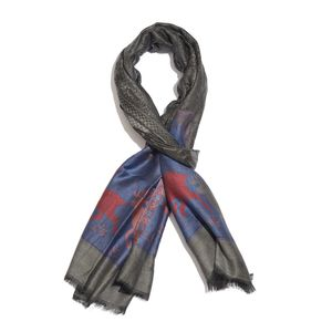 Multi Color 100% Modal Reversible Scarf (80x28 in)
