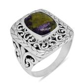 Bali Legacy Collection Tasmanian Stichtite Sterling Silver Ring (Size 10.0) TGW 5.35 cts.