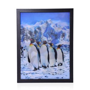 3D Snow Lives Painting with Photo Frame (17x13 in)