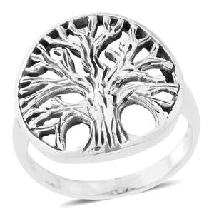 Sterling Silver Ring (Size 5.25) (5.4 g)