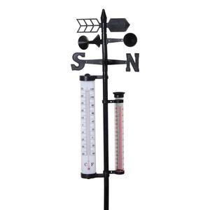 Garden Depot - 4 In 1 Weather Station (57 In)