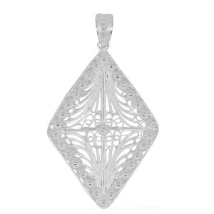Bali Legacy Collection Sterling Silver Pendant without Chain