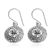 Bali Legacy Collection Round Sterling Silver Earrings
