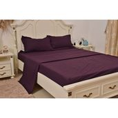 Plum Ultra Soft Innovative Sheet Set (Full)
