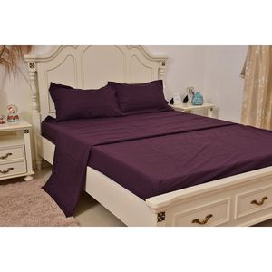 Plum Ultra Soft Innovative Sheet Set (Queen)