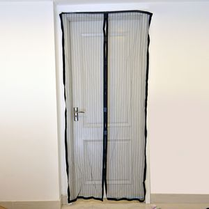 Set of 2 Magic Mesh Magnetic Screen Door (38x80 in)