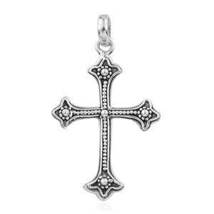 Sterling Silver Cross Pendant without Chain (4.2 g)