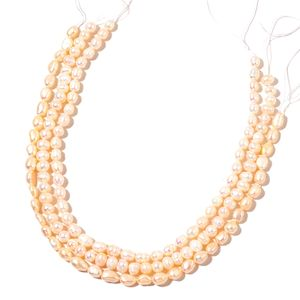 Gem Workshop Freshwater Pearl Set of 3 Strands 14-inch