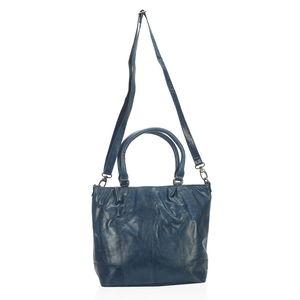 Blue Berry Genuine Leather RFID Shoulder and Sling Bag