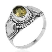 Bali Legacy Collection Brazilian Citrine Sterling Silver Ring (Size 5.0) TGW 1.15 cts.