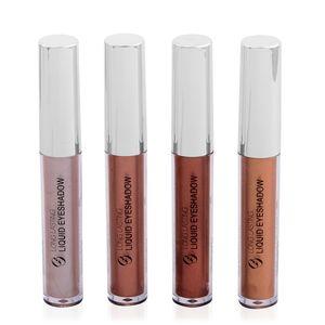 Metallics Liquid Eyeshadows 4 pcs