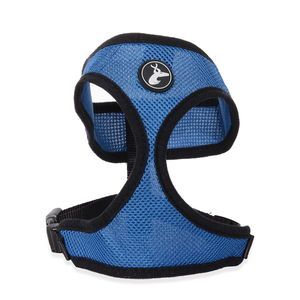 Blue Adjustable Pet Harness (L) (Neck 21in x Chest 20-28.5in)