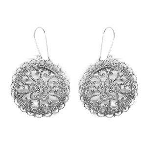 Bali Legacy Collection Sterling Silver Earrings