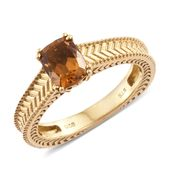 Karen's Fabulous Finds Santa Ana Madeira Citrine 14K YG Over Sterling Silver Ring (Size 6.0) TGW 1.40 cts.