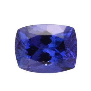 Tanzanite Cushion 10x8 mm 3A TGW 3.61 cts.