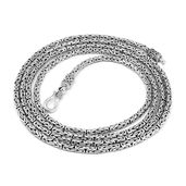 Doorbuster Bali Legacy Collection Sterling Silver Necklace (36 in)