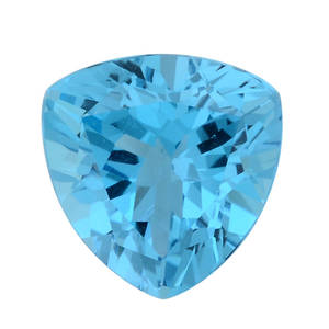 Electric Blue Topaz (Tril 14 mm) TGW 9.00 cts.