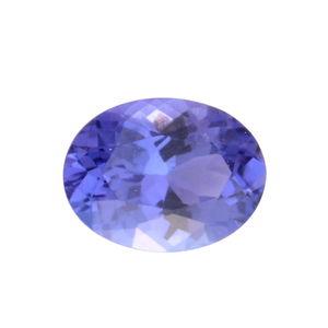 Premium AAA Tanzanite (Ovl 8x6 mm) TGW 1.15 cts.